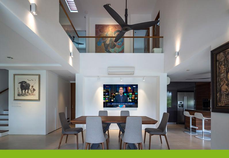 Thiết kế phòng bếp biệt thự nghỉ dưỡng
